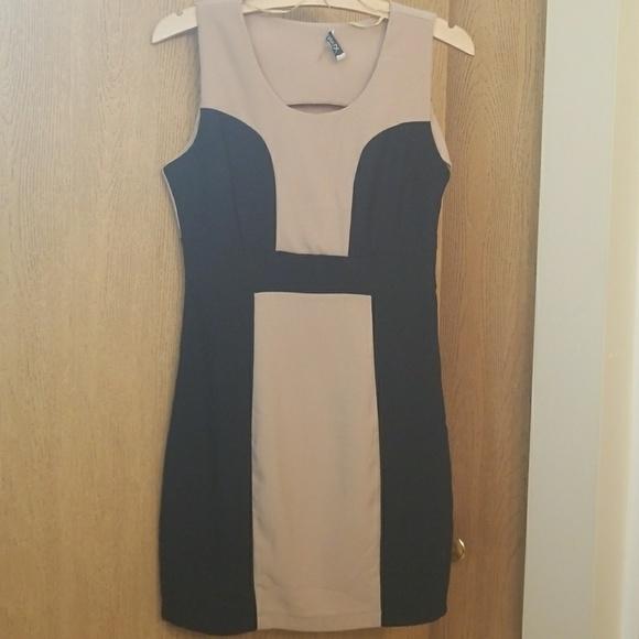 Xtaren Dresses & Skirts - Cute color-block dress